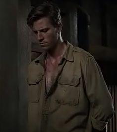 Garrett Hedlund in Unbroken. He played Commander Fitzgerald.