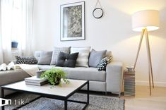 Living Room Inspiration, Interior Inspiration, Home Living Room, Living Room Decor, Small Apartment Decorating, Modern Room, My Room, House Design, Decoration