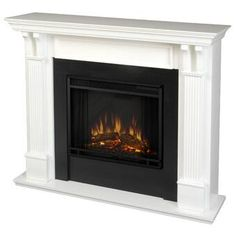 Darby Home Co Camilla Simulated Electric Fireplace & Reviews   Wayfair Indoor Electric Fireplace, Electric Fireplace Reviews, Wall Mount Electric Fireplace, Indoor Fireplaces, Electric Fireplaces, Stone Fireplaces, Brick Fireplace Makeover, Fireplace Hearth, Fireplace Inserts