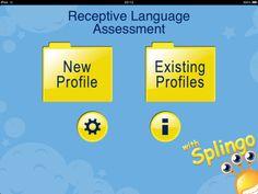 Receptive Language Assessment app