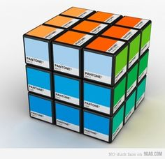 rubiks cube for graphic designers *love*