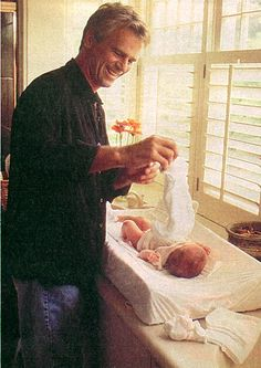 Richard Dean Anderson and daughter