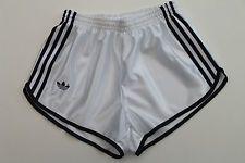 ADIDAS Shorts Womens UK 8-10 (S) NEW True Vintage Nylon Sport Hot Pants