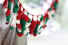 Knit Stocking Advent Calendar