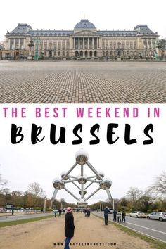 Brussels is the beautiful capital of Belgium. There are so many things to do, amazing chocolate and architecture to make for the best weekend in Brussels! Europe Travel Guide, Europe Destinations, Travel Guides, Travel Advice, Weekend Trips, Weekend Getaways, European Travel, Where To Go, Brussels Belgium