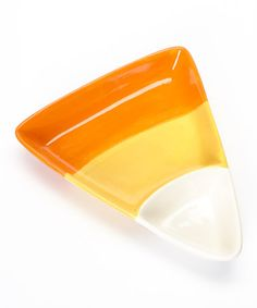 Take a look at this Candy Corn Serving Dish by Design Imports on #zulily today!