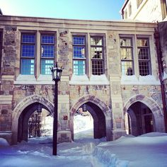 Stokes Hall #Blizzard2013 #BostonCollege