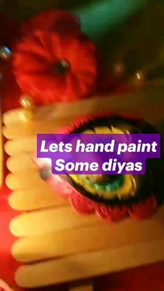Acrylic Painting Tips, Fabric Painting, Oil Lamps, Diwali, Decorative Items, Diy Gifts, Hand Painted, Let It Be, Creative