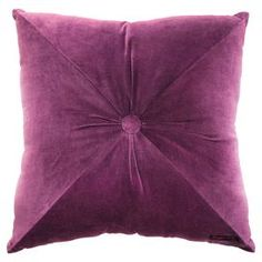 Fiona Cushion in Mulberry