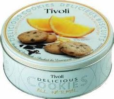 Tivoli Dark Chocolate and Orange Cookies