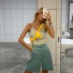 """summer outfits for every occasion—"" Tomboy Outfits, Mode Outfits, Casual Outfits, Fashion Outfits, Fasion, Casual Ootd, Fashion Weeks, Ladies Fashion, Fashion Tips"