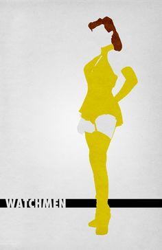 Watchmen (2009) ~ Movie Characters Poster by Travis English #amusementphile