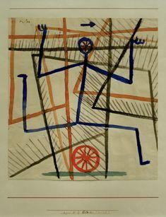 Paul klee | Eile ohne Ruecksicht (Haste without regard), 1935.