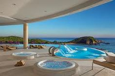 Our teams view from the Spa at Secrets Huatulco one of our favorite resorts
