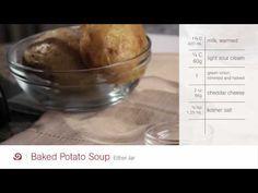 Loaded Baked Potato Soup Recipe - Blendtec Recipes