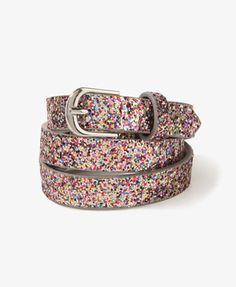 Barbie - Rainbow Glitter Hip Belt | FOREVER21 - 2002929107