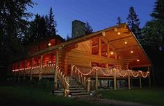 The lodge at Western Pleasure Guest Ranch.  #idaho #vacation http://www.ranchseeker.com/Search/WesternPleasureGuestRanch