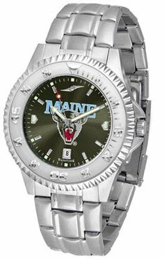 Maine Black Bears- University Of Competitor Anochrome - Steel Band - Men's - Men's College Watches by Sports Memorabilia. $87.08. Makes a Great Gift!. Maine Black Bears- University Of Competitor Anochrome - Steel Band - Men's