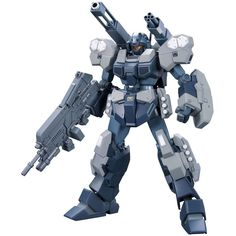Bandai Hobby HGUC Jesta Cannon High Grade Universal Century 1/144 Gundam Unicorn Action Figure. Easy to assemble articulated model kit requiring no glue. Colored plastic, no paint required. Runner x 10, foil sticker x1, tetron sticker x1, instruction manual x1.