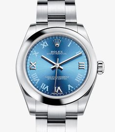Rolex Oyster Perpetual Watch: 904L steel - 177200