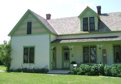 Stricker House:  This historic site, listed in the National Register of Historic Places in 1980 and located south of Hansen ID, was an early transportation center serving the Oregon Trail, Overland mail stage route, and the Kelton Freight Road.