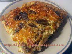 Τα φαγητά της γιαγιάς - Μανιταρόπιτα με σφολιάτα Cookie Dough Pie, My Favorite Food, Favorite Recipes, Savory Muffins, Yams, Greek Recipes, Tasty Dishes, Lasagna, Recipies