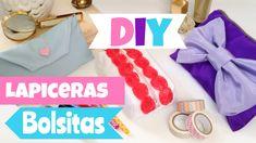 Como hacer lapiceras,bolsas para maquillaje (cosmetiqueras)