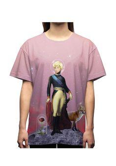 LeoPeralta Oversize Woman T-Shirt Le Petit Prince - JVGBD®  #art #arte #PetitPrince #Woman #Fashion #France #Málaga