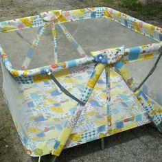 This is the play pen 4 out of 6 of us used when we were little.