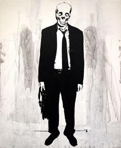 """Already Dead. 2007."" Art Print by Carp Matthew on Society6."