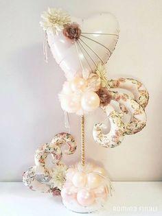 Amazing Valentine Decoration Ideas Using Balloon 35 Love Balloon, Balloon Gift, Balloon Flowers, Balloon Bouquet, Ballon Decorations, Balloon Centerpieces, Valentine Decorations, Birthday Decorations, Mothers Day Balloons
