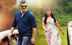 Ajith Kumar & Shruti Haasan in Vedhalam