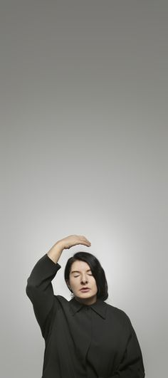"""""""Ecstasy II (A) (from the series """"With Eyes Closed I See Happiness"""")""""~Marina Abramović (2012)"""