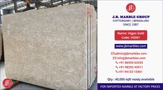 Imported Vegas Gold Marble in Best Prices by JB Marble Group. Gold Marble, Vegas, Coding, Group, Programming