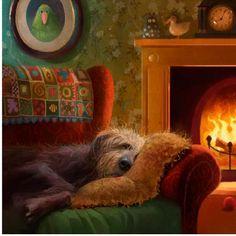Digital artist Stephen Hanson art prints for sale, buy Stephen Hanson Toby the dog art online full UK delivery at Arthouse Gallery Art And Illustration, Portrait Illustration, Regard Animal, Animals And Pets, Cute Animals, Draw Animals, Art Fantaisiste, Art Mignon, Charles Darwin