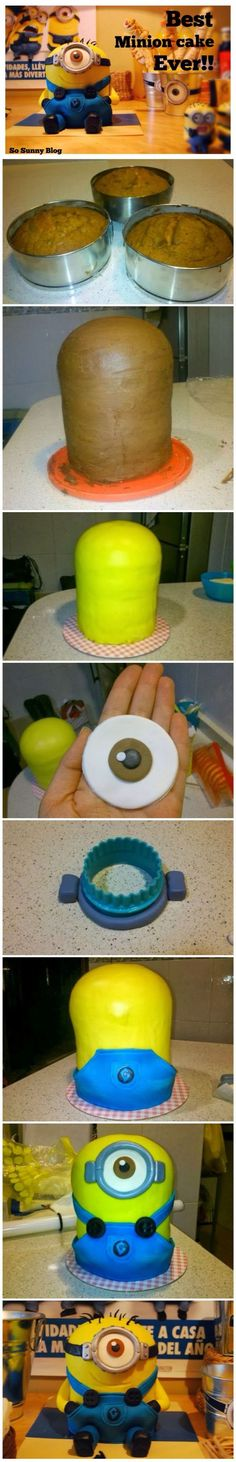How To Make The Best Minion Cake