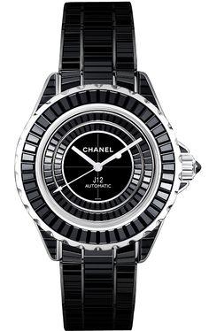 #Chanel #Haute #Horlogerie The intense black 2012