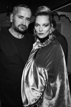 Fat Tony and Kate Moss