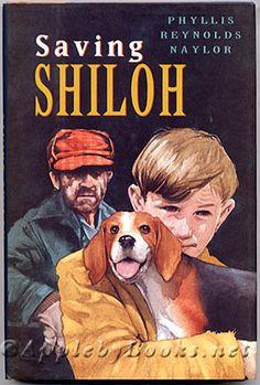 Naylor, Saving Shiloh, school age, pets, community, friends