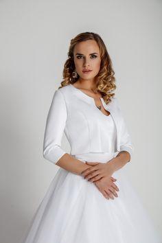bf69d41326 Satin Bridal Bolero  satin  bridal  bolero  wedding  satyna  bolerko