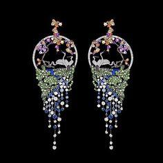 Gilan Grand Pheasants Earrings..#GilanWoman #WalkingTaller