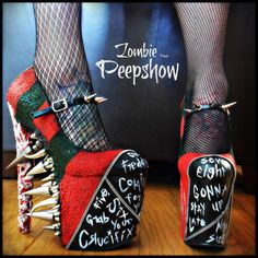Hey, I found this really awesome Etsy listing at https://www.etsy.com/uk/listing/220572219/freddy-krueger-elm-street-spike-pumps
