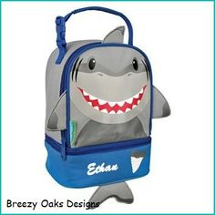 Personalized Shark, Lunchbox, School, Lunch Sac, Personalized Lunchbox, Kids Lunchbox, Lunch Box, Lunch Pal,