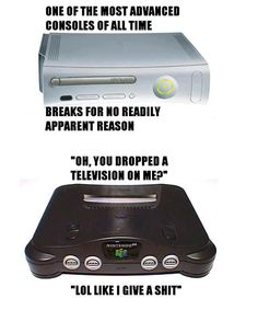 The N64. One of the strongest consoles ever.