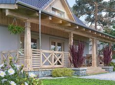 Cabana, Wooden House Design, Pergola, Cottage Homes, House In The Woods, Traditional House, Sweet Home, Farmhouse, Exterior