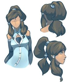 Korra//by http://cherusii.tumblr.com/post/28258660430/yissss-first-post-on-this-account-okay-well