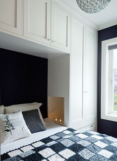 Chic Wardrobe Design Ideas For Your Small Bedroom - Chic Wardrobe De. - Chic Wardrobe Design Ideas For Your Small Bedroom - Chic Wardrobe Design Ideas For Your Small Bedroom - - Bedroom Built Ins, Built In Bed, Small Master Bedroom, Modern Bedroom, Wardrobes For Small Bedrooms, Master Suite, Tiny Bedroom Storage, Bedroom For Twins, Organizing Small Bedrooms