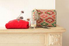 sac pochette kilim color bandouli re berb re. Black Bedroom Furniture Sets. Home Design Ideas