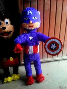 Piñata capitan america