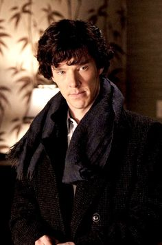 Benedict as Sherlock